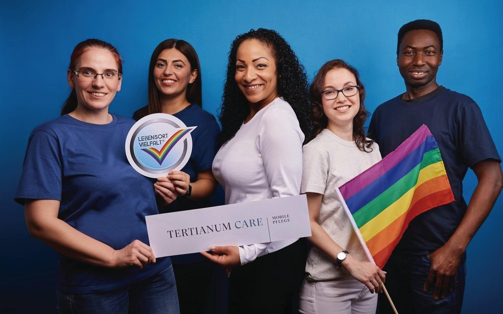"Tertianum Care startet Aktion ""#pridemonth"""